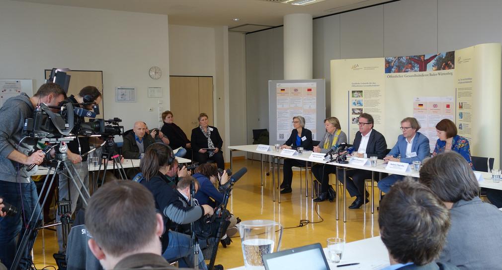 Baden Württemberg Pressekonferenz