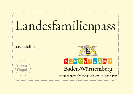 Ausweis Landesfamilienpass 2019